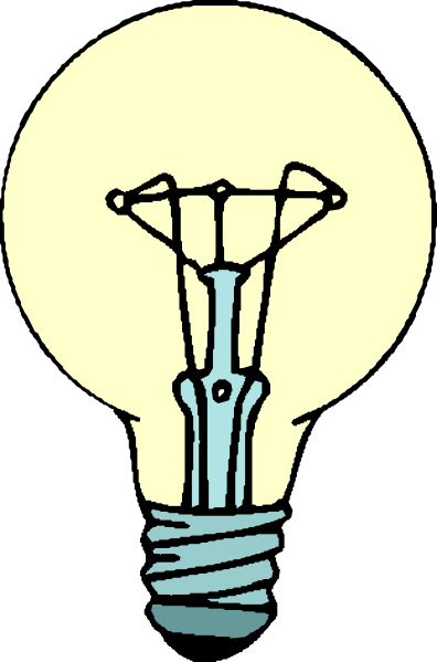 Bulb clipart for kid Kids bulb for free kids