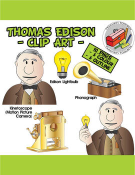 Bulb clipart kid inventor And PNGS 10 Edison Clip