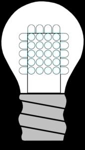 Bulb clipart led bulb Off Clip online Led Light
