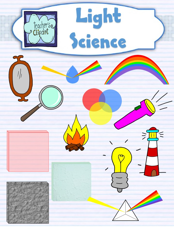 Campire clipart colored And Science Art Clip Light