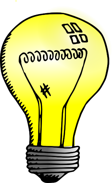 Light Bulb clipart transparent background Download Transparent Light Bulb Clipart