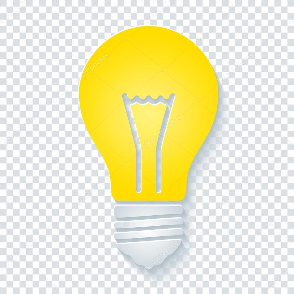 Light Bulb clipart transparent background On Photo bulb Light —