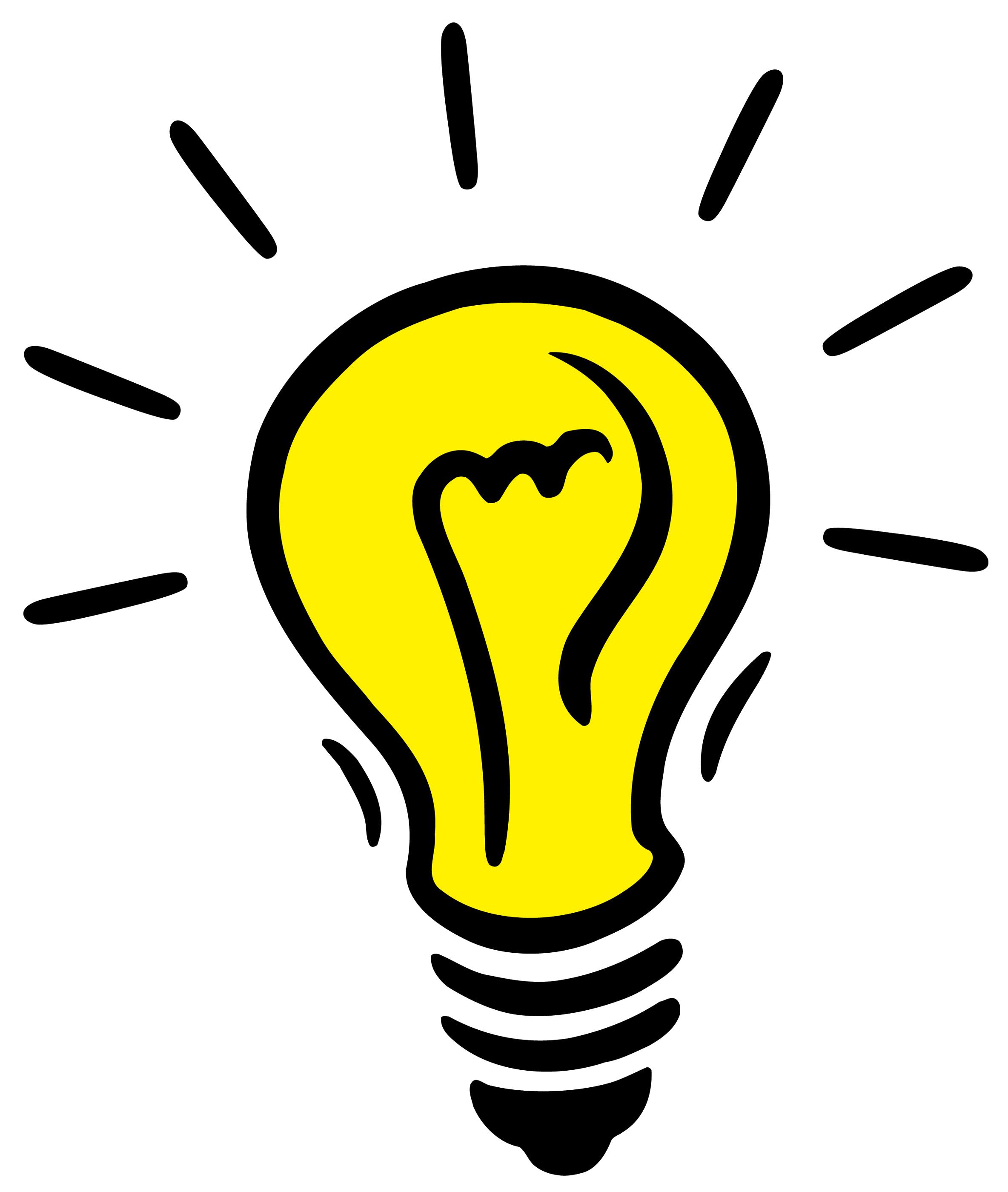 Light Bulb clipart transparent background Com Light Images Bulb PNG