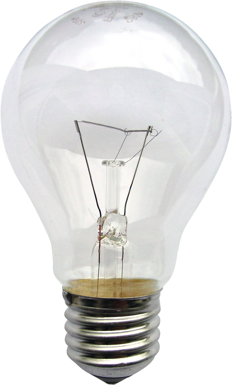 Bulb clipart natural light source Incandescent  bulb Wikipedia light