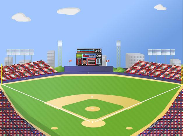 Light clipart baseball stadium Baseball Clipart Clipart Stadium Stadium