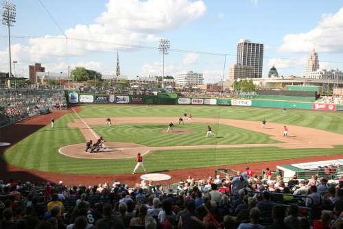 Light clipart baseball stadium  Baseball Wayne Fort TinCaps