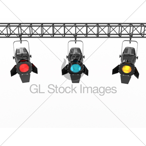 Lights clipart concert light · Lights 3d Background White
