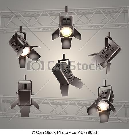 Lights clipart theater light #9