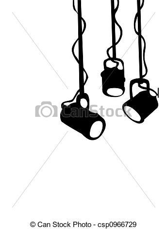 Lights clipart theater light #1