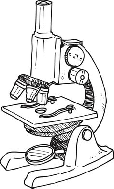 Light Microscopy clipart Image  for Microscope parts