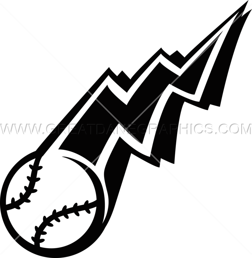 Lightening clipart baseball Lightning T Production Artwork Lightning