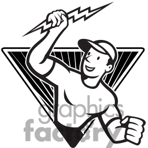 Lightening clipart baseball Lighting Images Clipart Free electrician%20clipart