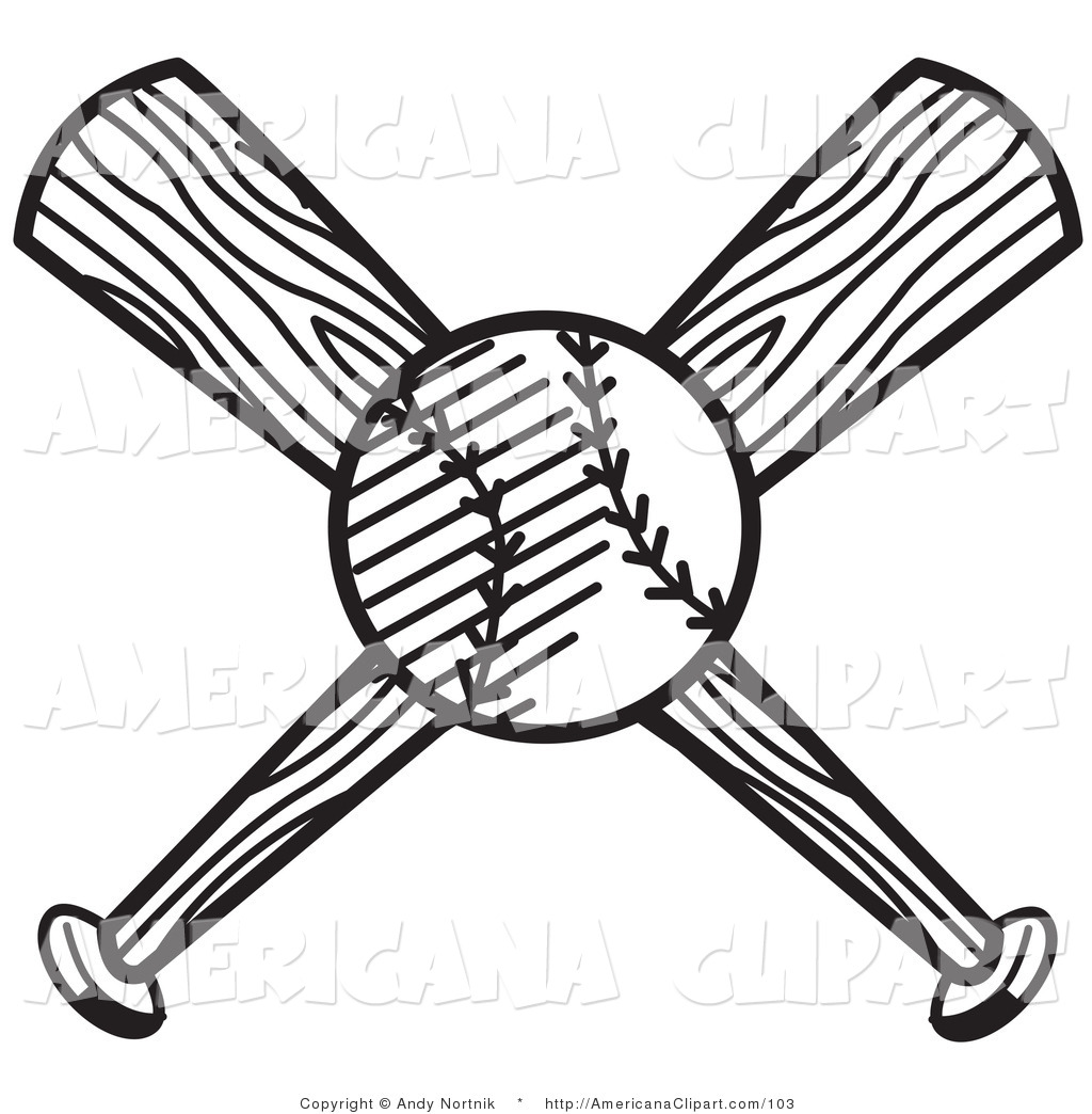 Lightening clipart baseball Black baseball White and Bat