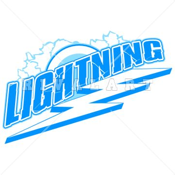 Lightening clipart baseball 24 Vinyl Tuna about Logo