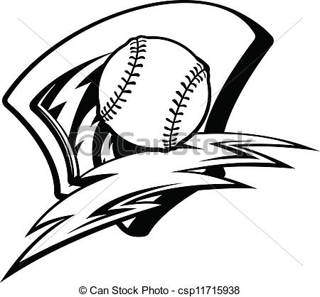 Lightening clipart baseball Panda Images Clipart softball Clipart