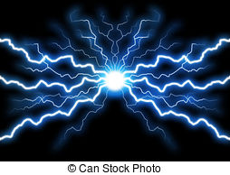 Lightening clipart blue lightning Of Blue Blue Bolts