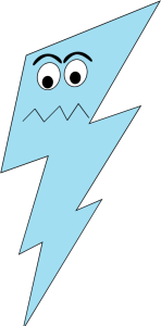Lightening clipart blue lightning Bolt Angry Bolt Art Angry