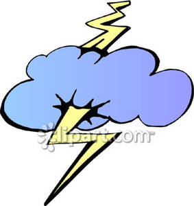 Lightening clipart bold Lightning In a A In