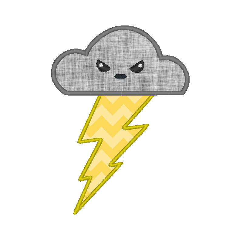 Thunder clipart cute Free items Free Clip Popular