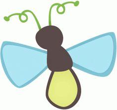 Bugs clipart lightning bug Lightning Silhouette Back #46022: Cute