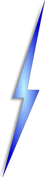 Lightening clipart electric spark Clker this  image Clip
