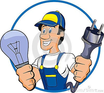 Electrical clipart electrician #1