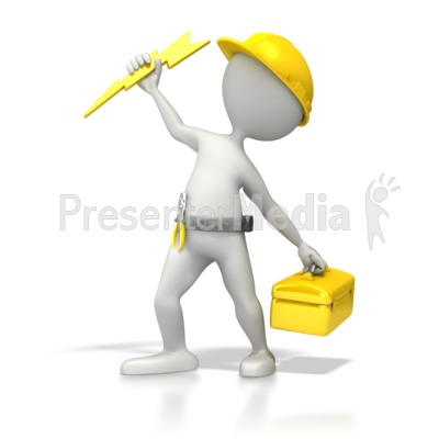 Lightening clipart electrical work Electrician Clipart Electricity 5531