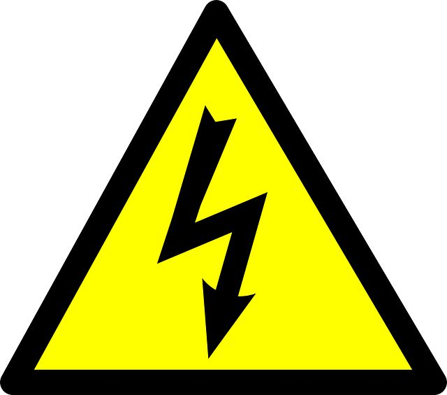 Lightening clipart electrical work On Voltage Risky Image images