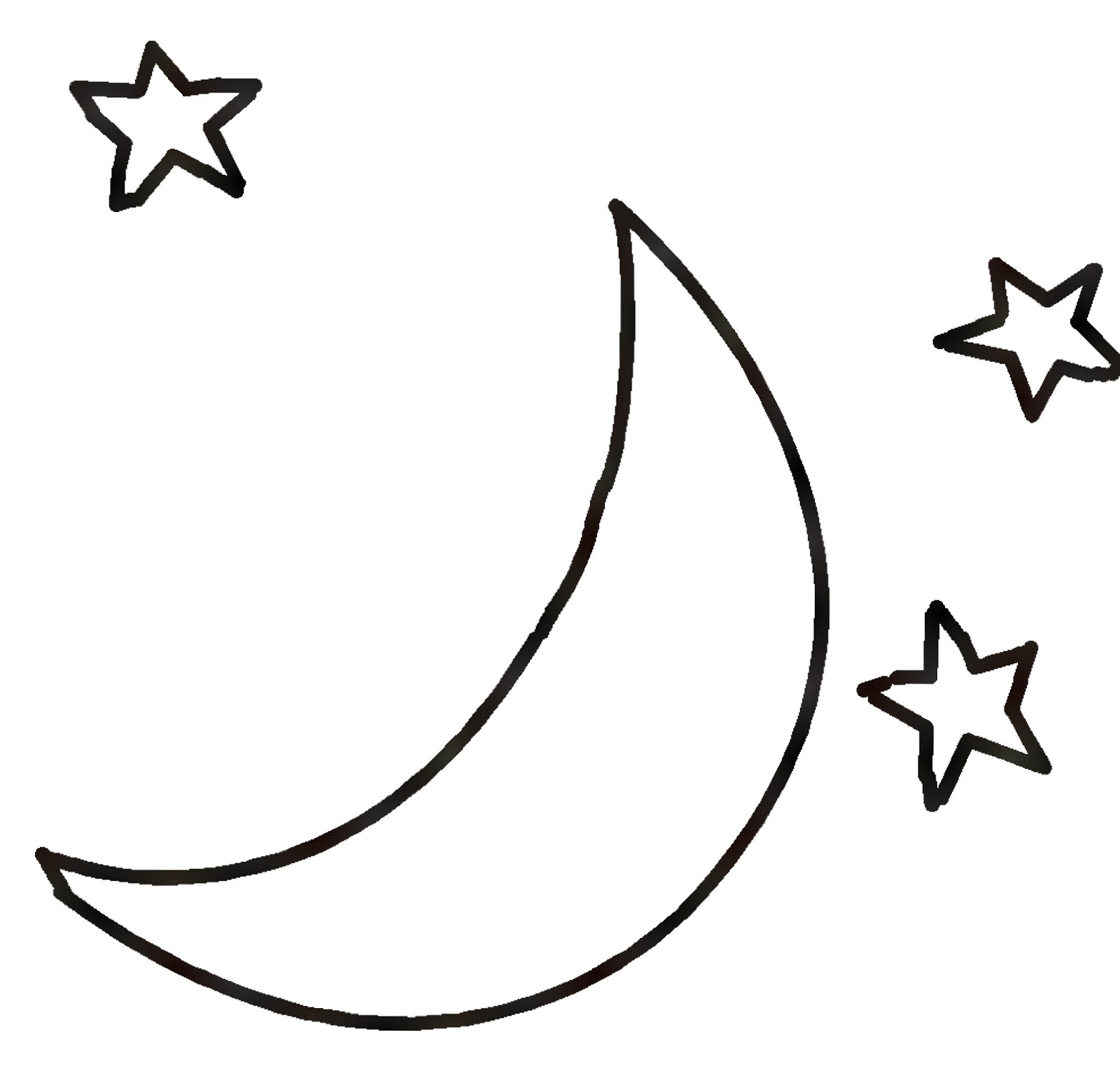 Nature clipart sun and moon #2