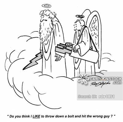 Lightening clipart funny  from Comics Cartoon Cartoons