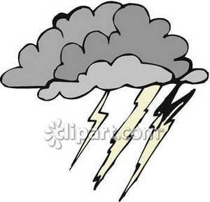 Lightening clipart grey cloud Images Free Cloud Dark Clipart