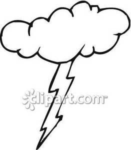 Lightening clipart grey cloud Images Free Bolt Lightning Clipart