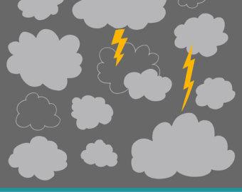 Lightening clipart grey cloud Clip – Storm Clouds Storm