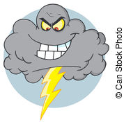 Lightening clipart grey cloud Lightning 766 Cloud free Lightning