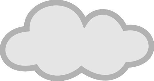 Lightening clipart grey cloud WikiClipArt grey grey clipart Cloud