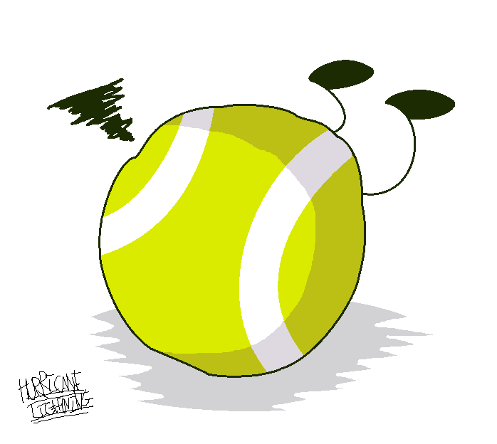 Lightening clipart hurricane On that ball clumsy by