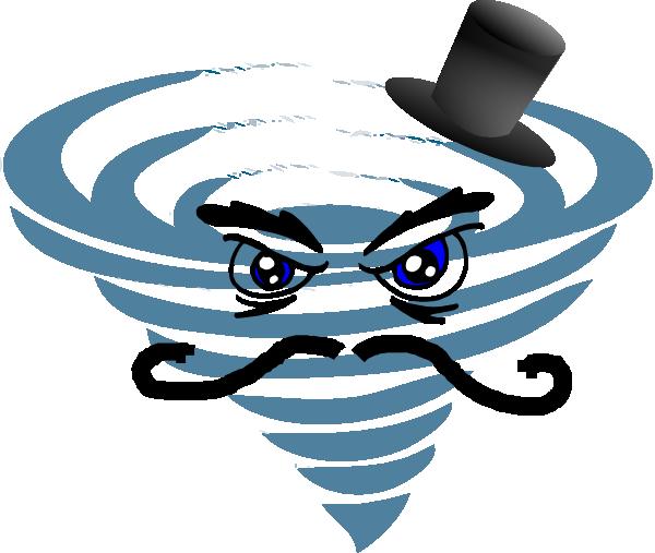 Lightening clipart hurricane Weather vector clip art Free