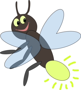 Bugs clipart lightning bug Lighting clip Bug Art