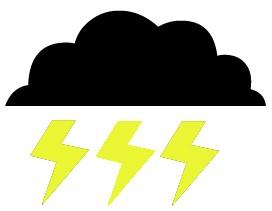 Lightening clipart lightning storm Lightning Storm  Clipart