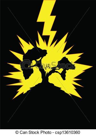 Lightening clipart lightning strike – Art Clip Clip Cool
