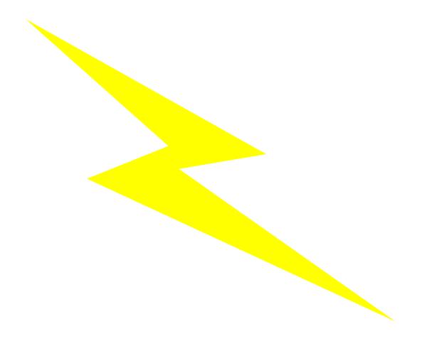 Lightening clipart lightning strike Strike  Airplane Lightning Clipart