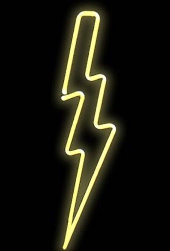 Lightening clipart neon Op used make could Sommers