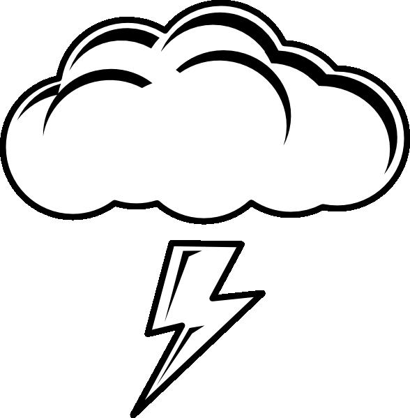 Clouds clipart lightning bolt Library Art Free Free Bolt