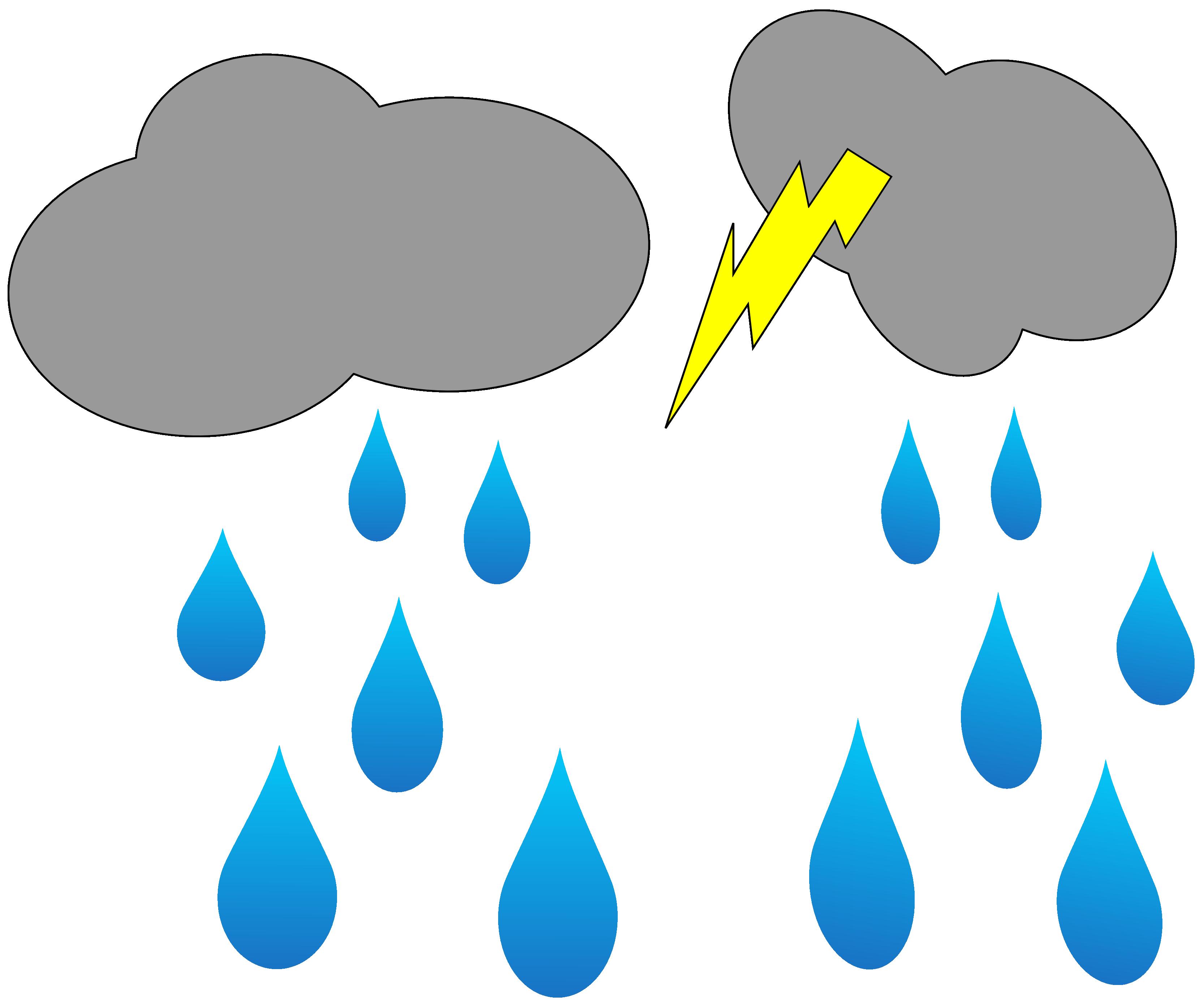 Thunder clipart i hear Art Blog Cloud ClipArt Rain