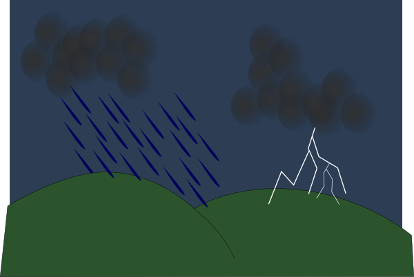 Thunderstorm clipart rainstorm Rain Clipart Clipart  Clip