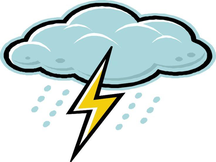 Clouds clipart lightning bolt On & about bolt Pinterest