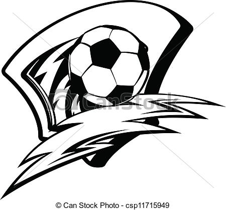 Football clipart shield And White Clipart soccer%20clipart%20black%20and%20white Free