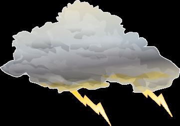 Lightening clipart storm cloud Best Storm Weather Cloud Cloud