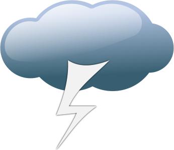 Lightening clipart storm cloud Storm Cloud And Clipart Clip