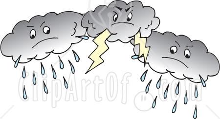 Lightening clipart storm cloud Clip Art Cloud Dark Storm